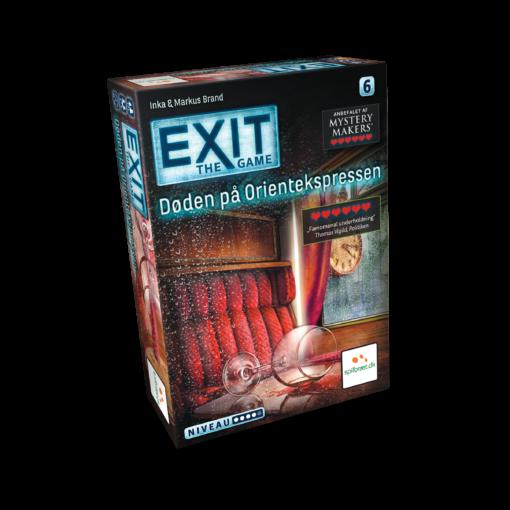 EXIT: Døden på Orientekspressen - KudosGames.Dk - Escape Room