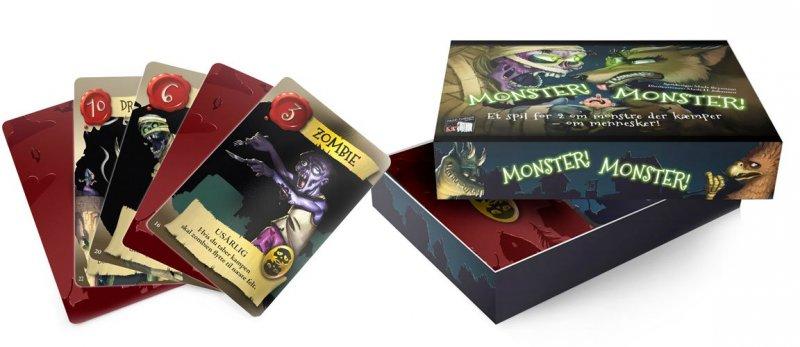 Monster! Monster! - Famlie spil