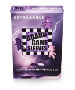 Board Game Sleeves-Non-Glare: Extra Large