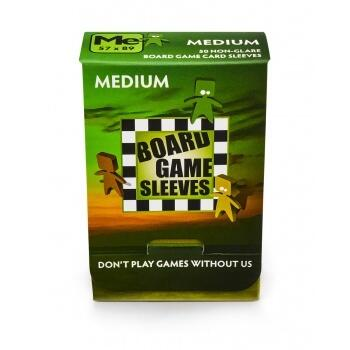 Board Game Sleeves-Non-Glare: Medium