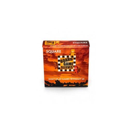 Board Game Sleeves-Non-Glare: Square