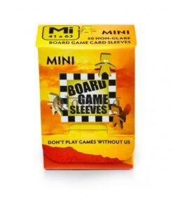 Board Game Sleeves-Non-Glare: Mini