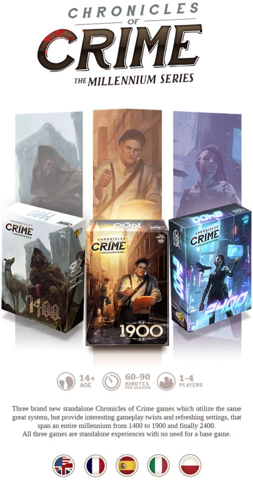 Chronicle of crime millennium