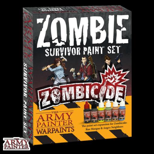 Warpaints Zombicide: Survivor Paint Set - The Army Painter