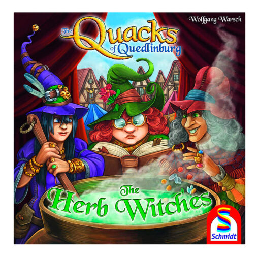 Quacks of Quedlinburg - Herb Witches-expansion