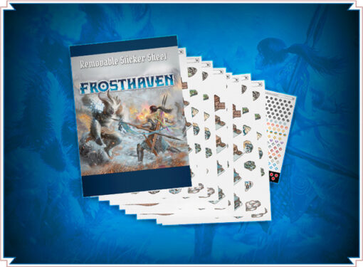 Frosthaven Removable Sticker Set