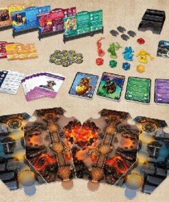 Dungeons & Dragons Adventure Begins board game