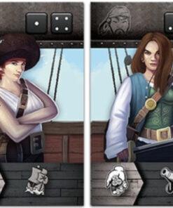 Tiny epic Pirates + Curse of amdiak (udvidelse)